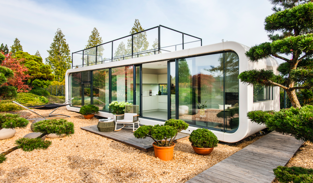 SELF-CONTAINED PREFEB HOME LETS YOU LIVE ALMOST ANYWHERE IN THE WORLD